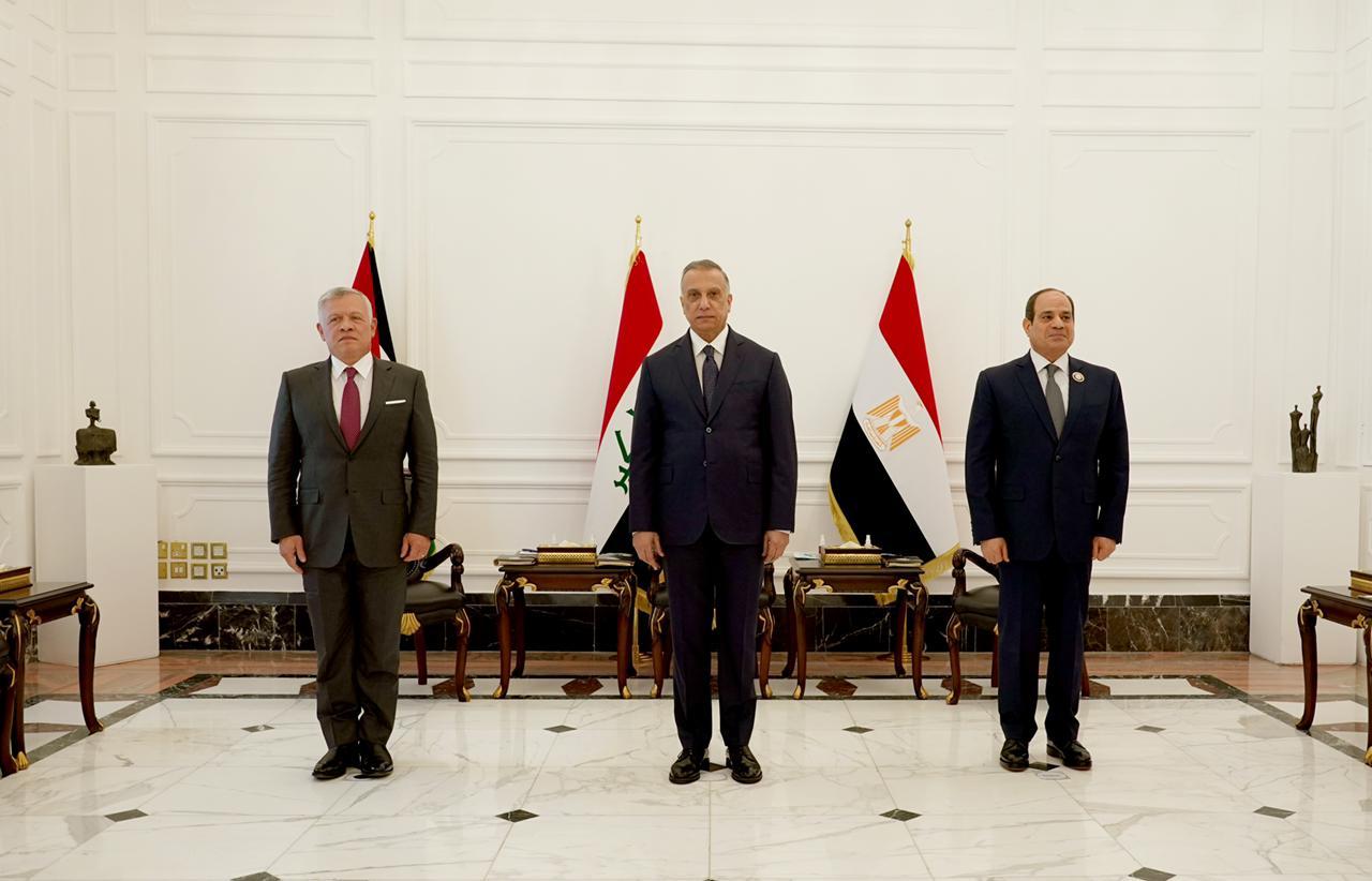 بالصور .. انطلاق اعمال القمة الثلاثية العراقية الاردنية المصرية في العاصمة بغداد